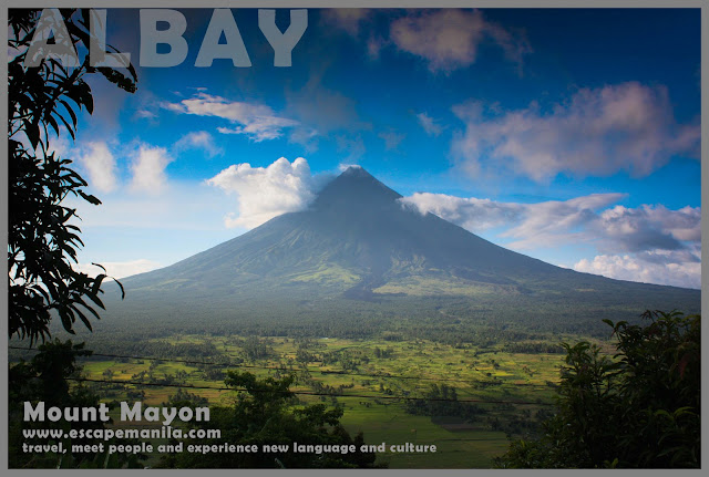 Mount Mayon - one of the top tourist spots in Albay