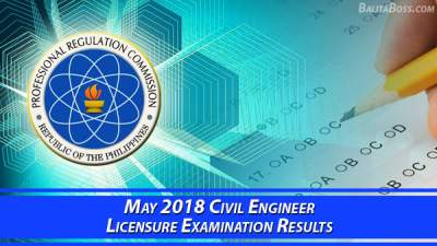 Civil Engineer May 2018 Board Exam
