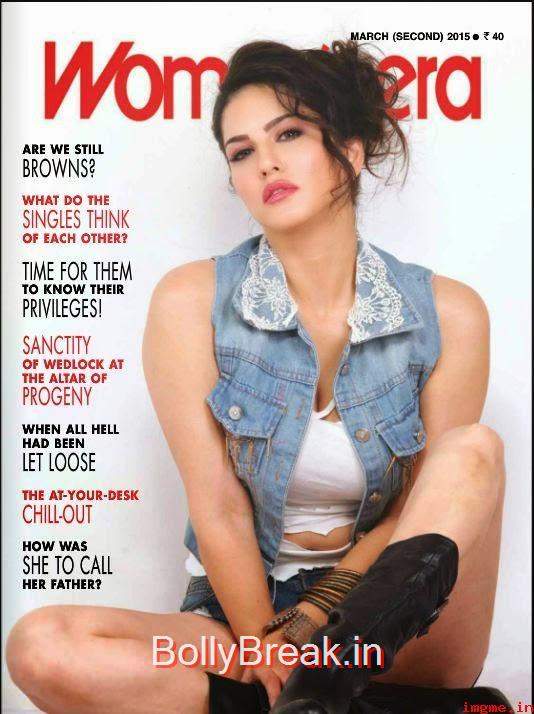 ,  Sunny Leone On Cover of Women's Era March 2015