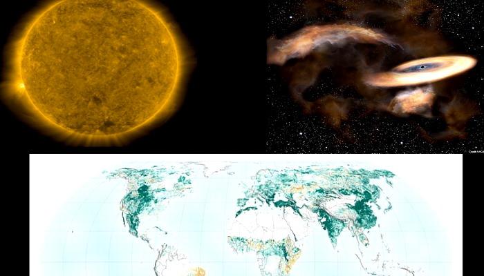 """Físicos rusos desconcertados detectan algo """"imposible"""" en el Sol I Astrónomos japoneses detectan un agujero negro sigiloso...."""