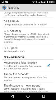 Fake GPS Move around fake Location