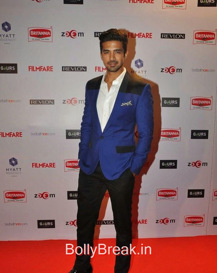 Saqib Saleem, 60th Britannia Filmfare Awards pre-awards Party 2015 Red Carpet Pics