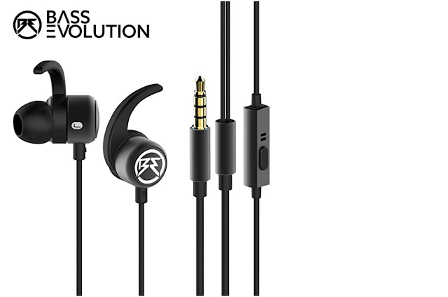 The amazing and best earphones under 1000 . by Bass Evolution .