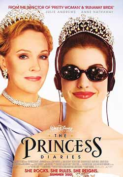 The Princess Diaries 2001 Hindi Dubbed 300MB ENG BluRay 480p