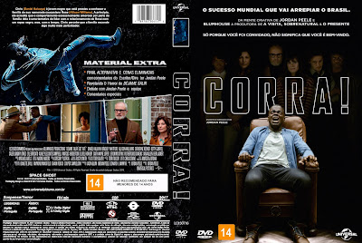 Filme Corra (Get Out) DVD Capa