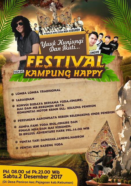 Jangan Lupa, Besok Pagi Ada Festival Kampung Happy