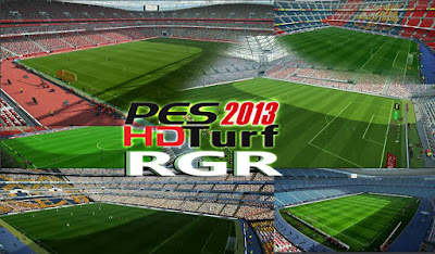 PES 2013 HD Turf by Rgr DS
