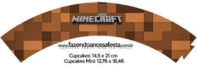 Wrappers de Minecraft para imprimir gratis.