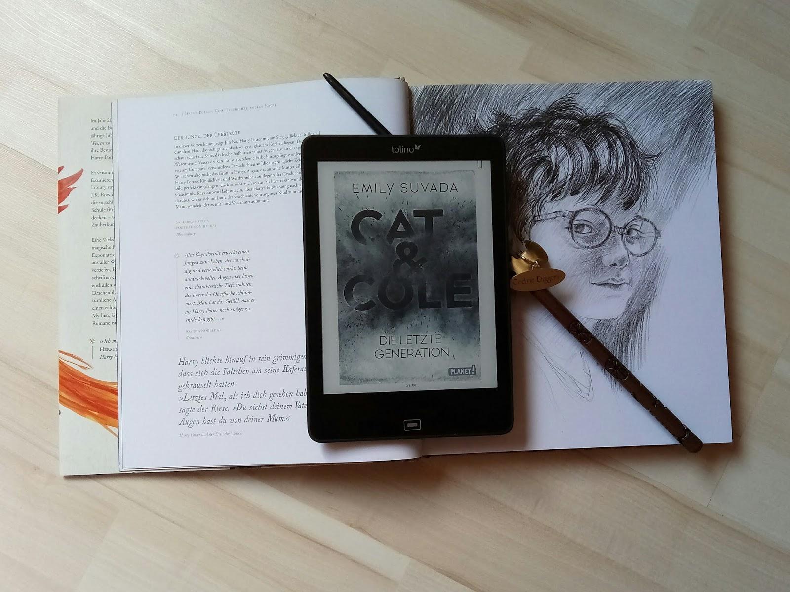 {Rezension} Cat & Cole - Die letzte Generation | Emily Suvada