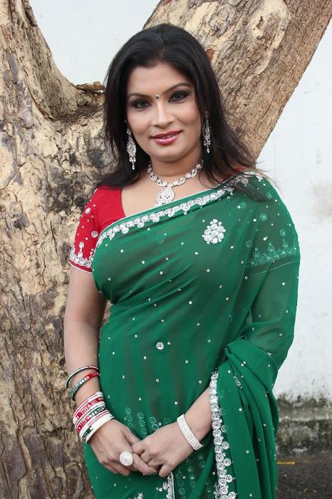 Idhuthanda Chennai New Actress Stills In Saree  Bollywood -7014