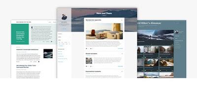 Template Blogger Terbaru Bawaan Blogger.