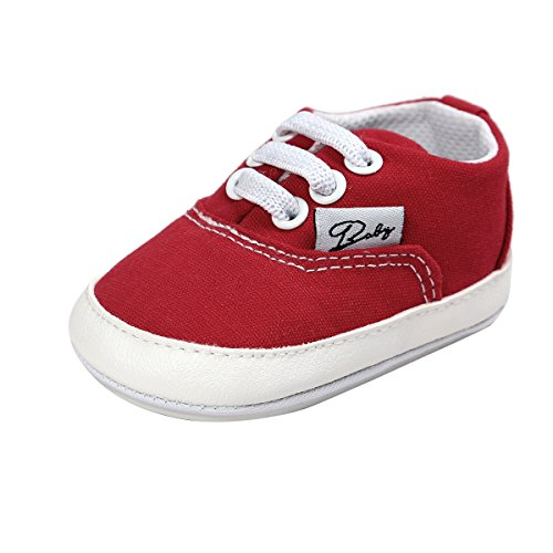 e56fedf9c06aa The best BENHERO Baby Boys Girls Canvas Toddler Sneaker Anti-Slip First  Walkers Candy Shoes 0-24 ...