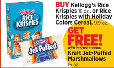 Rice Krispies Holiday Colors Cereal 99 Cents (Save $1 99!)