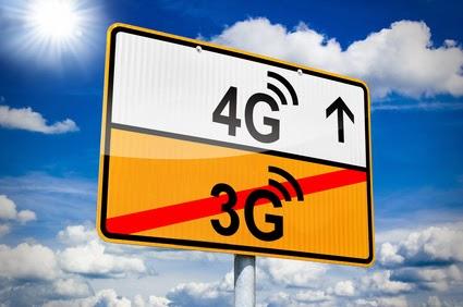 Illusatration La 4G en plein décollage