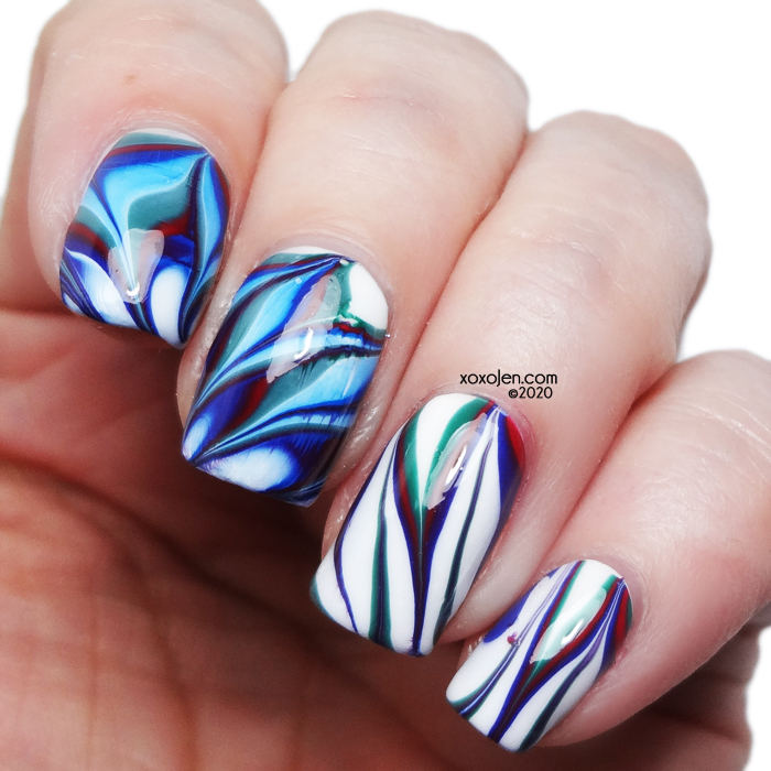 xoxoJen's swatch of Tonic Water Marble