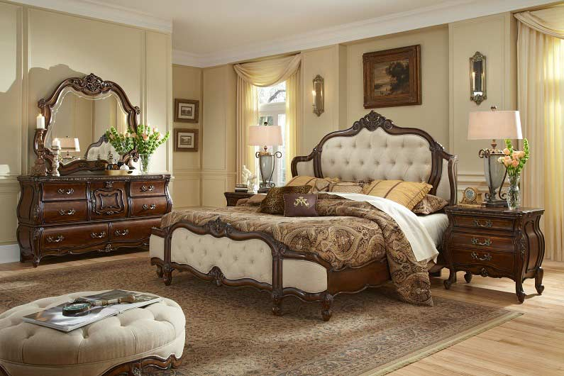 Luxury classic bedroom design ideas and furniture 2018