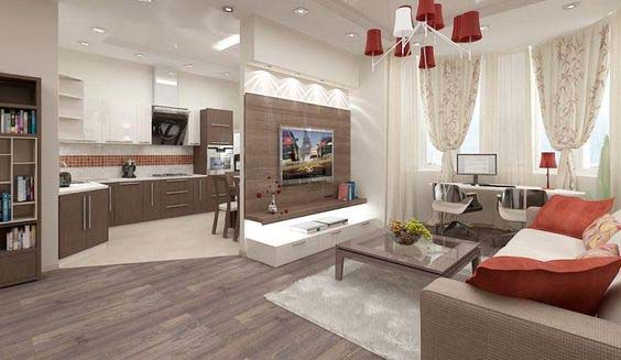 Best 20 Open Plan Kitchen Living Room Design Ideas