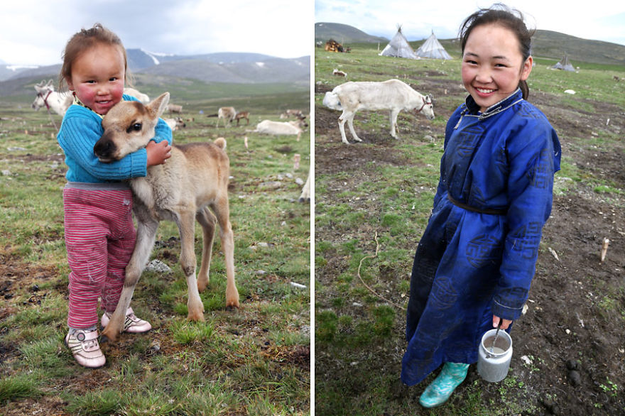 Tuvshinbayar & Ulziisaihan - Meet The Tsaatan Nomads In Mongolia Who Live Like No One Else