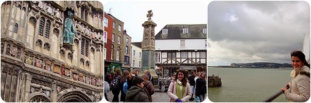 Dica de Viagem : Inglaterra : Canterbury : Canal da Mancha