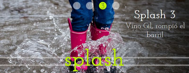 Splash: slider manual puro Css