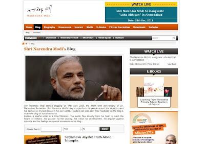 Narendra Modi post on Gujarat riots