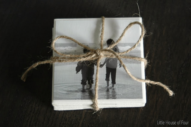 how to make handmade photo coasters