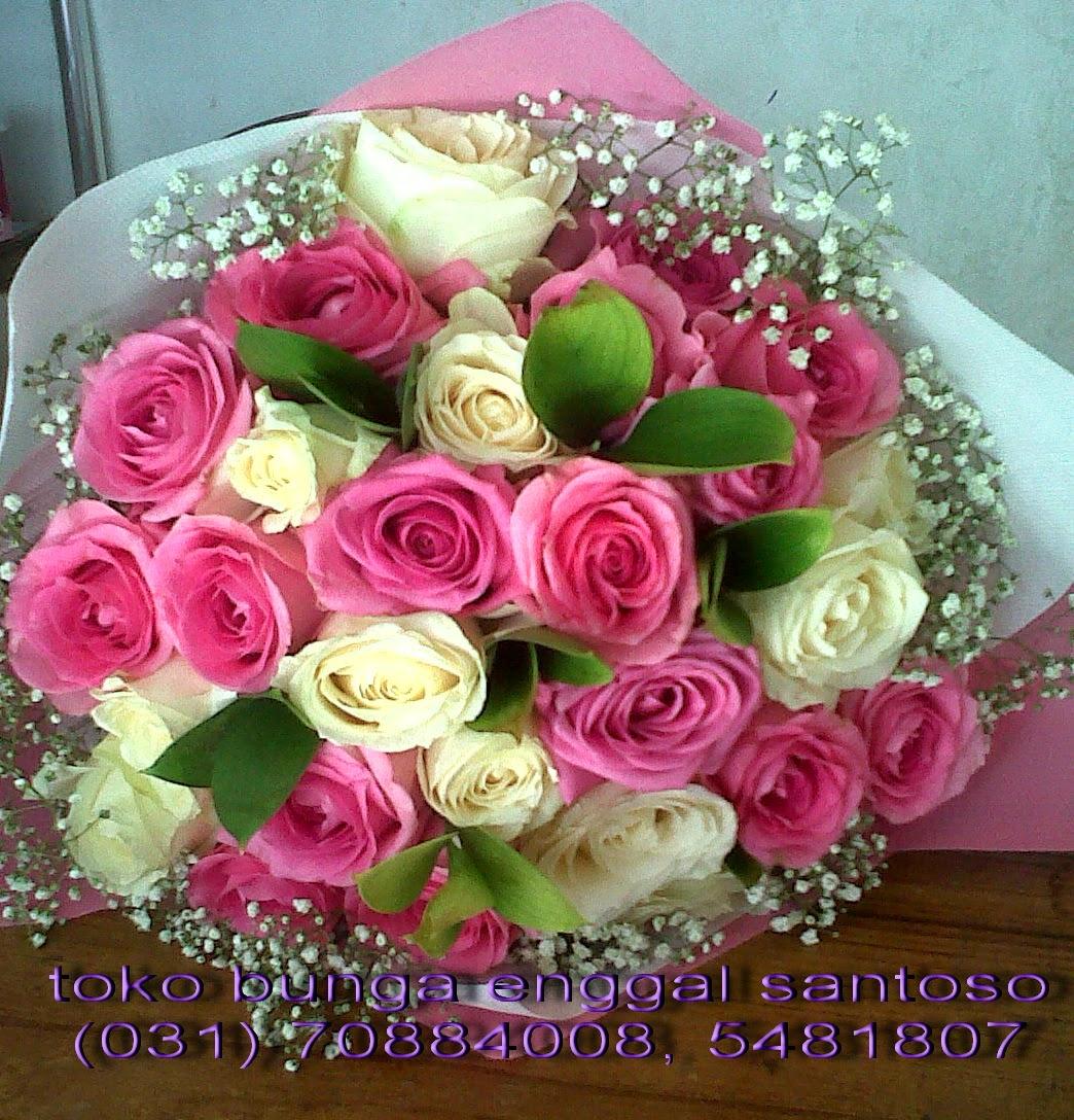 bunga tangan, hand bouquet toko bunga murah di surabaya