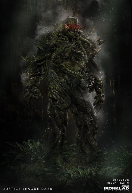 Concept Art Justice League Dark Tampilkan Swamp Thing hingga Zatanna!