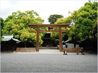ศาลเจ้าเมจิ (Meiji Shrine)
