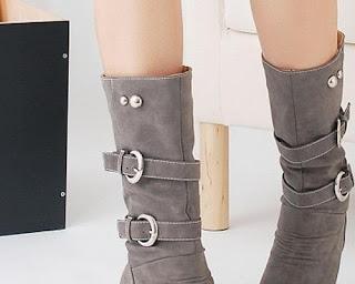 model sepatu hak tinggi ala korea