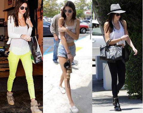 40815dbb6443 Knots and Ruffles  Get the Style  Kendall Jenner Street Style