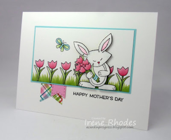 Happy Mother's Day by Irene features Hello Spring by Newton's Nook Designs; #newtonsnook