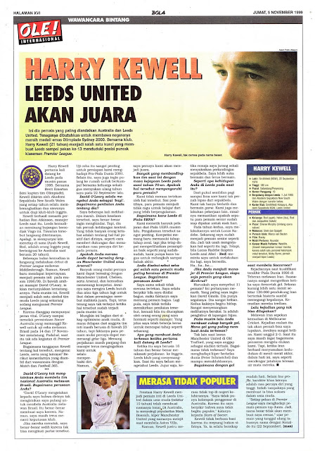 INTERVIEW WITH HARRY KEWELL OF LEEDS UNITED