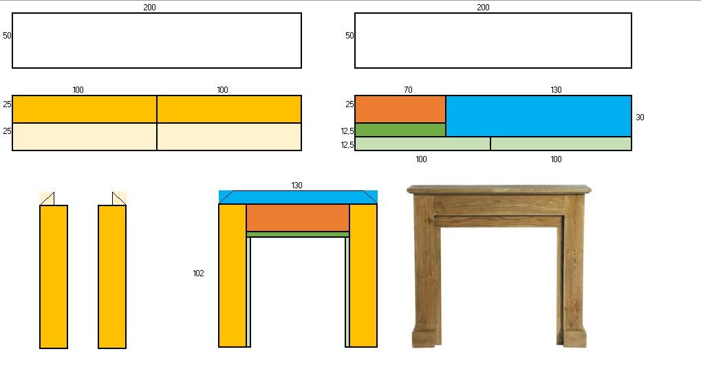 Design by xkun chimenea diy - Corte tableros a medida leroy merlin ...
