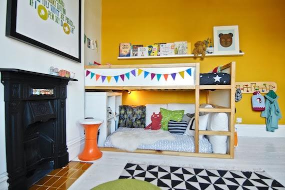 Letti Bassi Per Bambini Ikea.Mar Vi Blog Ikea Hacks Idee Per Personalizzare I Letti Kura