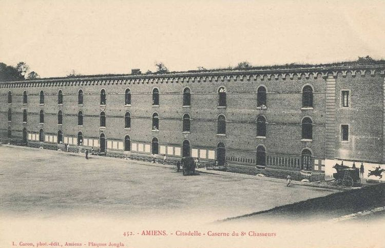 Citadelle d'Amiens - caserne du 8e Chasseur
