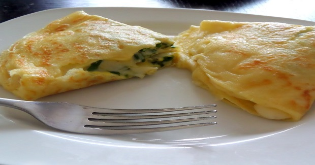 Egg And Cheese Crepes Recipe