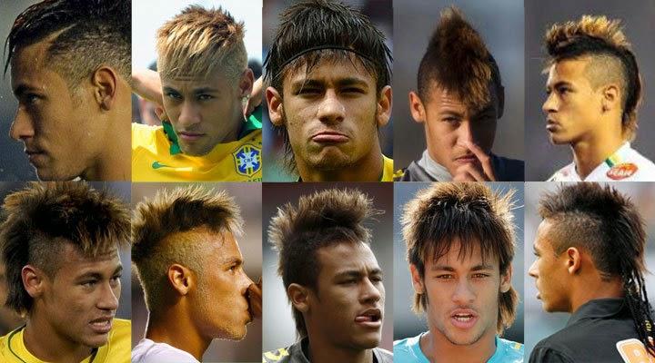 Foto Gaya Rambut Neymar 2015 - Foto Gaya Rambut Model Terbaru