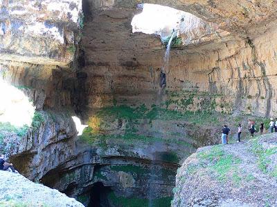 Cachoeira Baatara George – Líbano