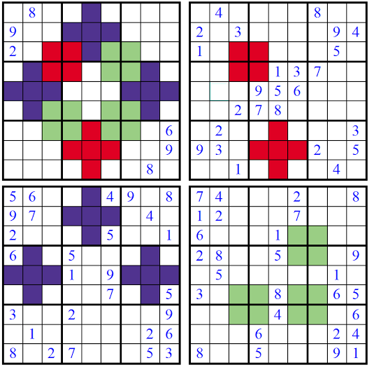 Picture Sudoku (Fun With Sudoku #11)
