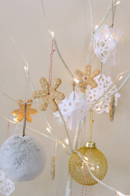 Ornaments made with salt and flour