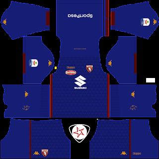 Torino FC 2018 - 2019 GK Away Kit