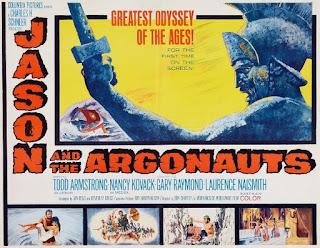 El rodaje de Jasón y los argonautas