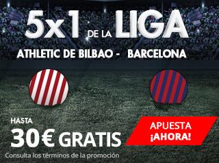 suertia promocion Athletic vs Barcelona 28 octubre
