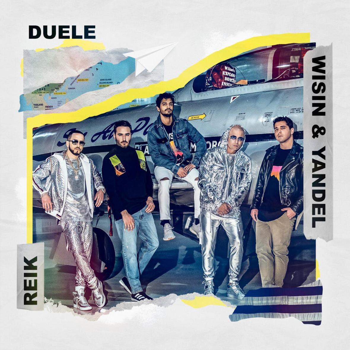"""El nuevo sencillo de REIK: """"DUELE"""" junto a WISIN Y YANDEL es todo éxito global"""