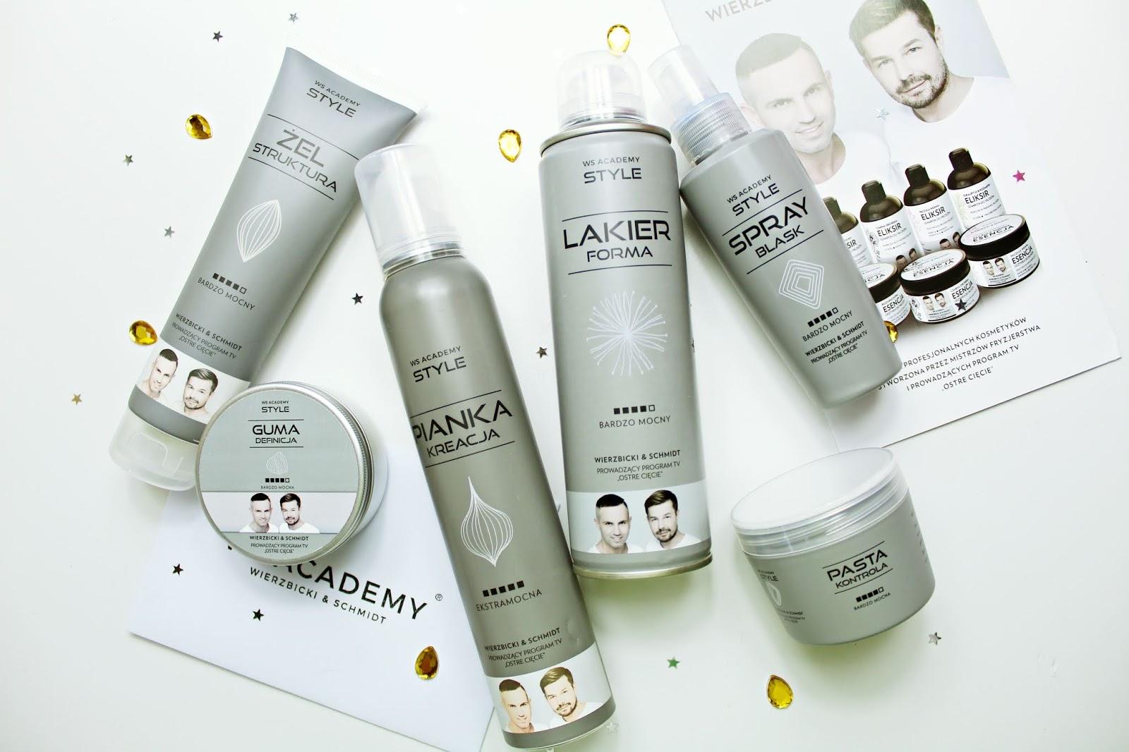 Nowa linia kosmetyków do stylizacji włosów WS STYLE od WS ACADEMY