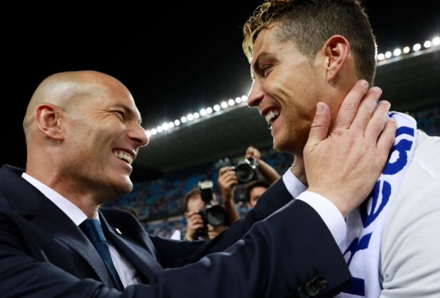 Zidane Comments On Potential Ronaldo Return To Real