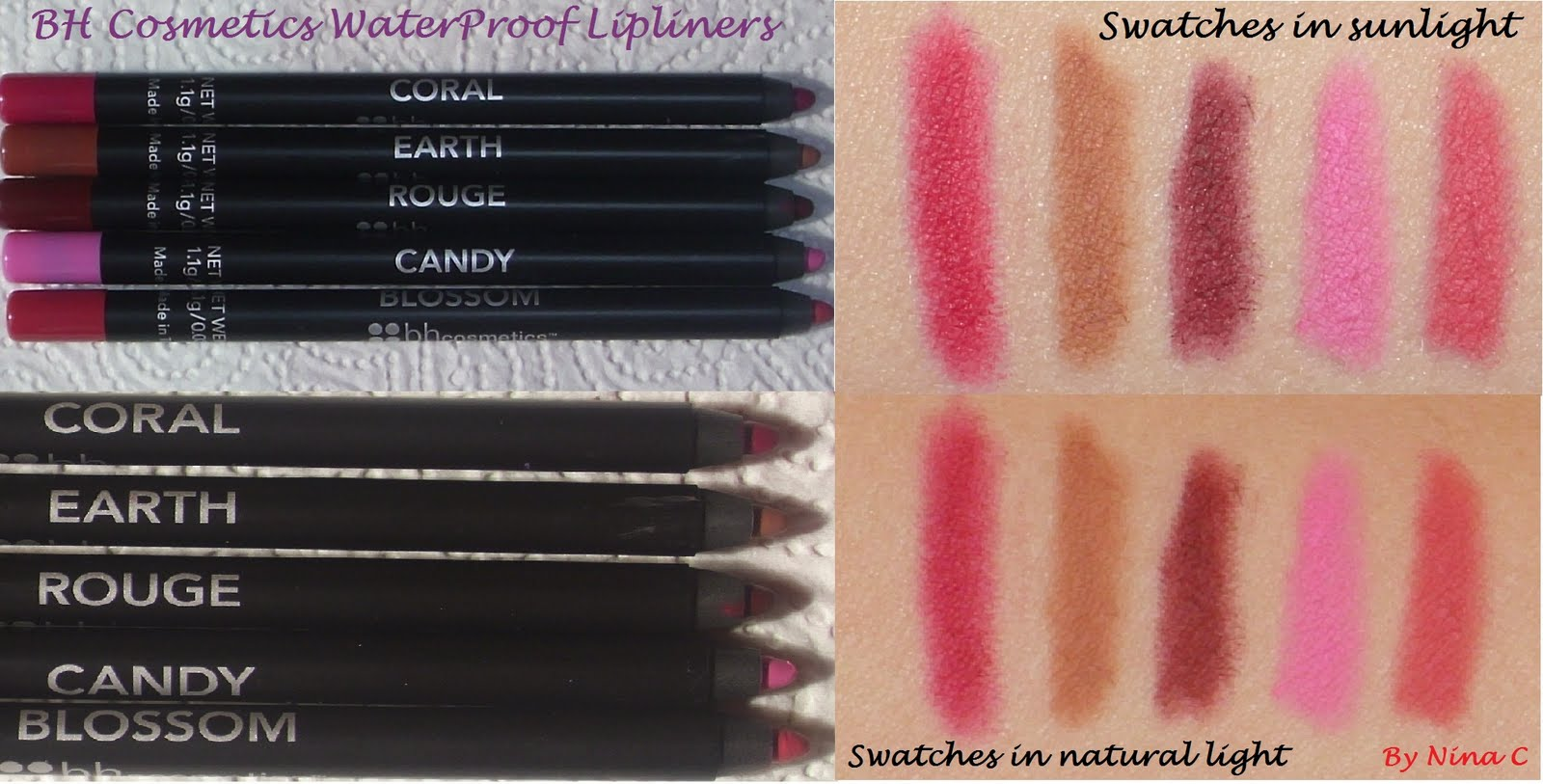 Waterproof Lip Liner by BH Cosmetics #3
