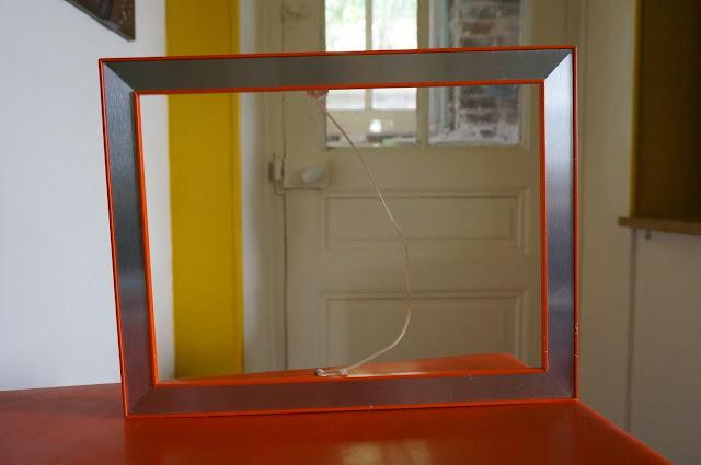 un cadre orange en alu des années 70  70s orange frame 1970s vintage