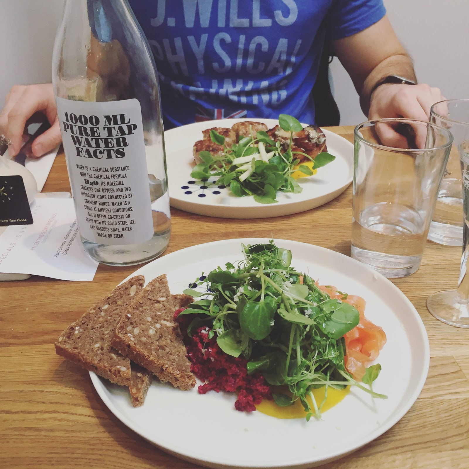DATE NIGHT: Snaps & Rye // Healthy London Restaurants